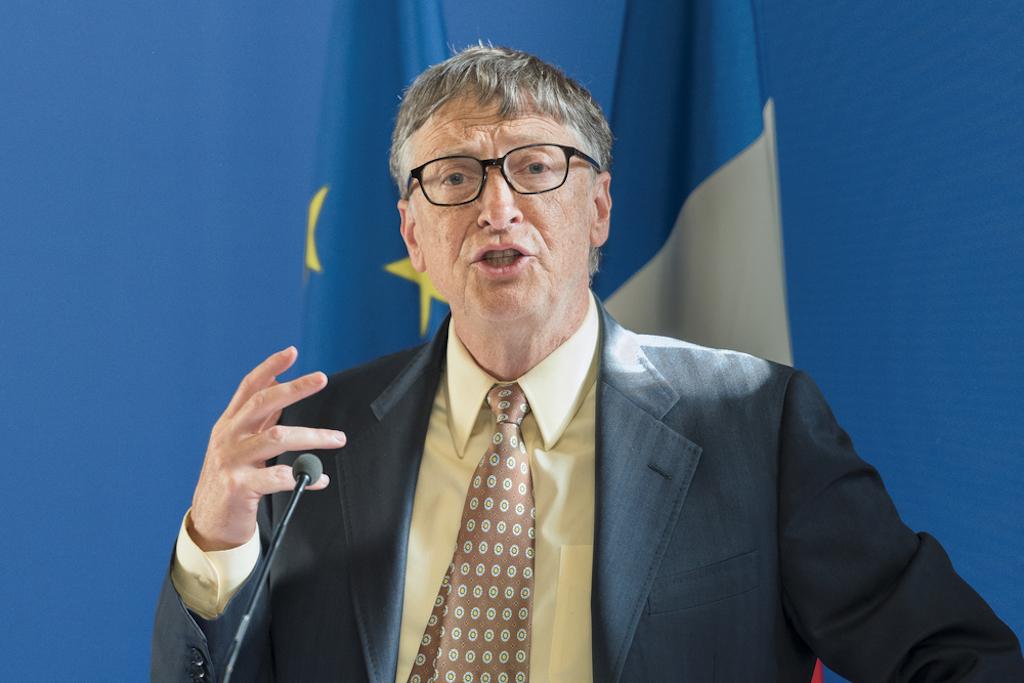 Bill Gates recauda 1 billón de dólares para invertir en energías limpias