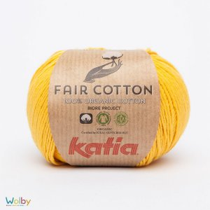 Katia Fair Cotton 20 - Amarillo / Geel