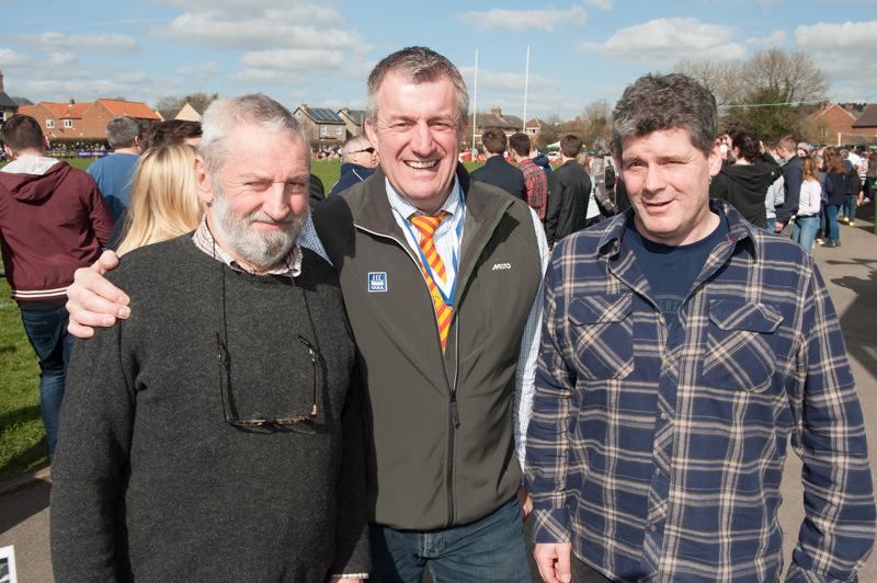 The 58th Annual Pock 7's Rugby Tournament - Festival Organiser Adrian Styche