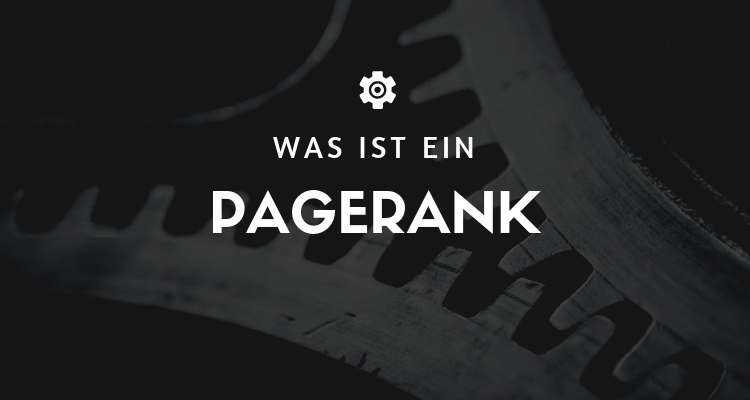 Was ist 1 2 - PageRank