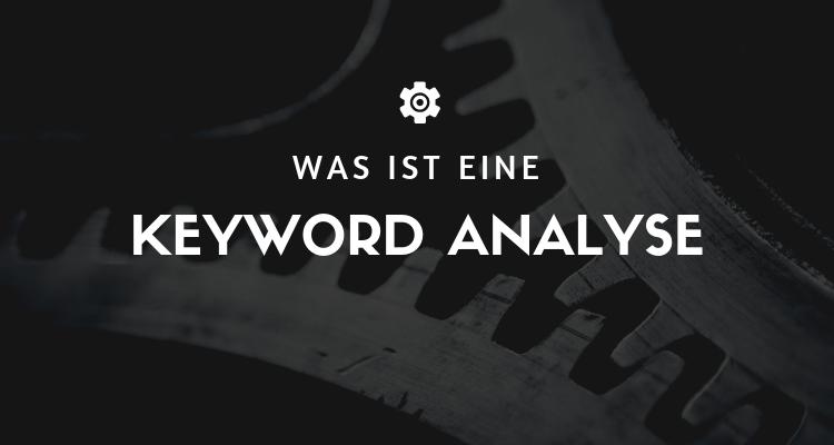 Was ist 51 - Keyword Analyse