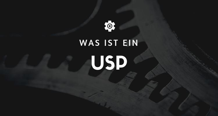 Was ist 58 - USP (Unique Selling Proposition)