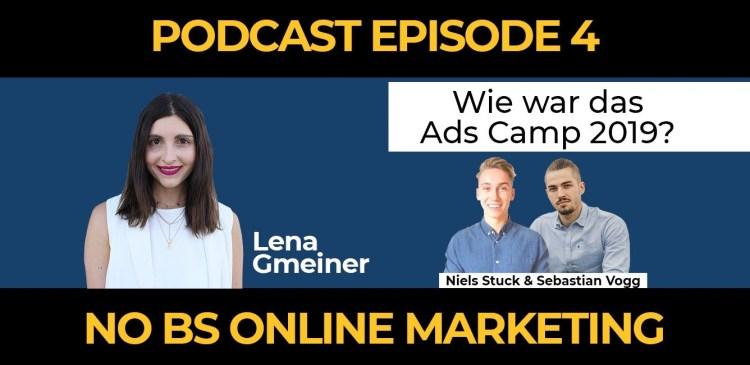 3 1 - Episode 4: Wie war das Ads Camp 2019? - mit Lena Gmeiner