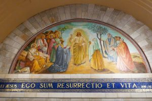 Wandgemälde Saint Lazarus Kirche