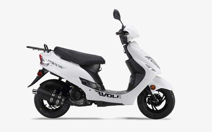 Ing A 50cc Or 150cc Motor Scooter