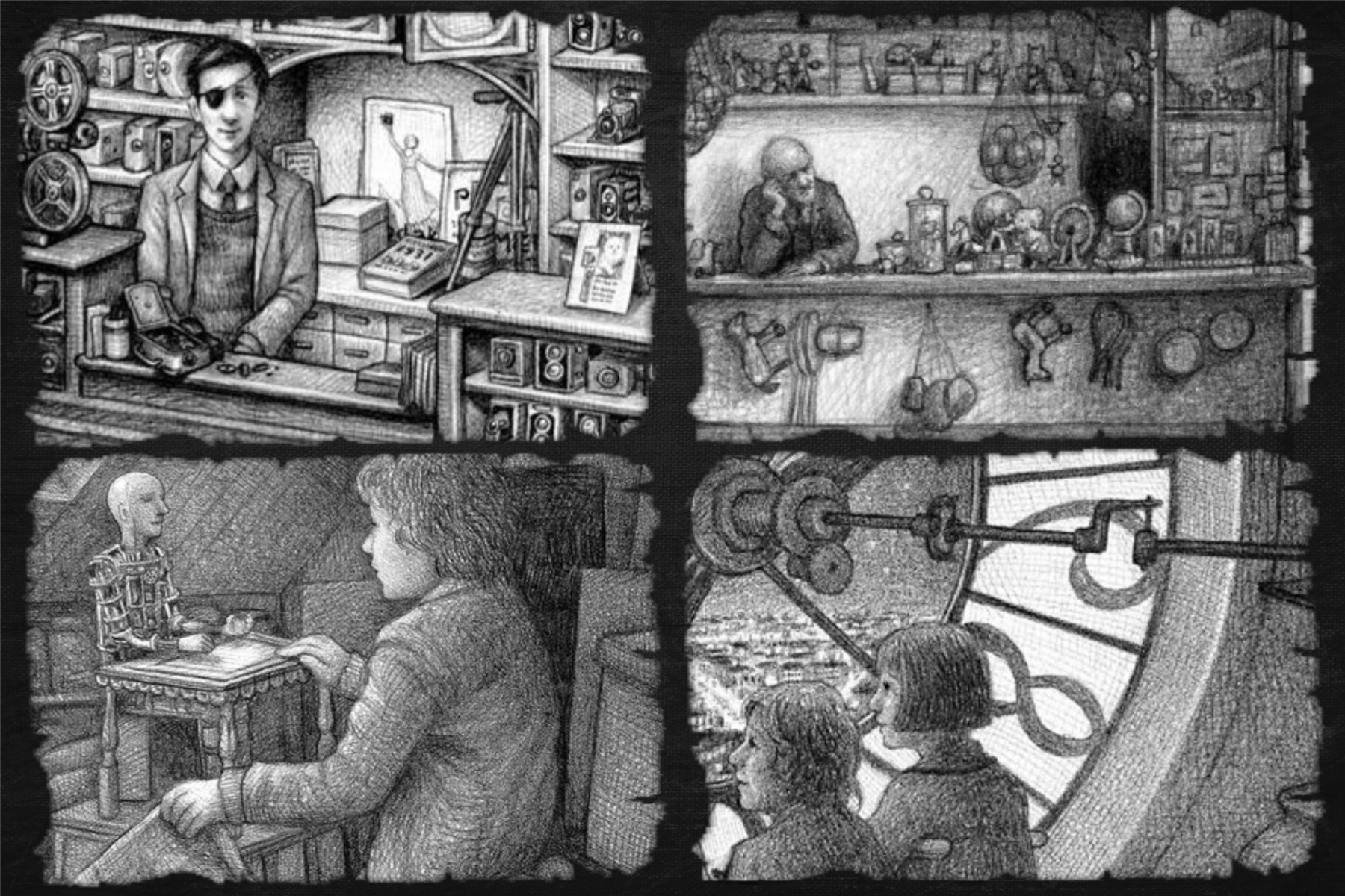 Book Review The Invention Of Hugo Cabret Wolf Cafe