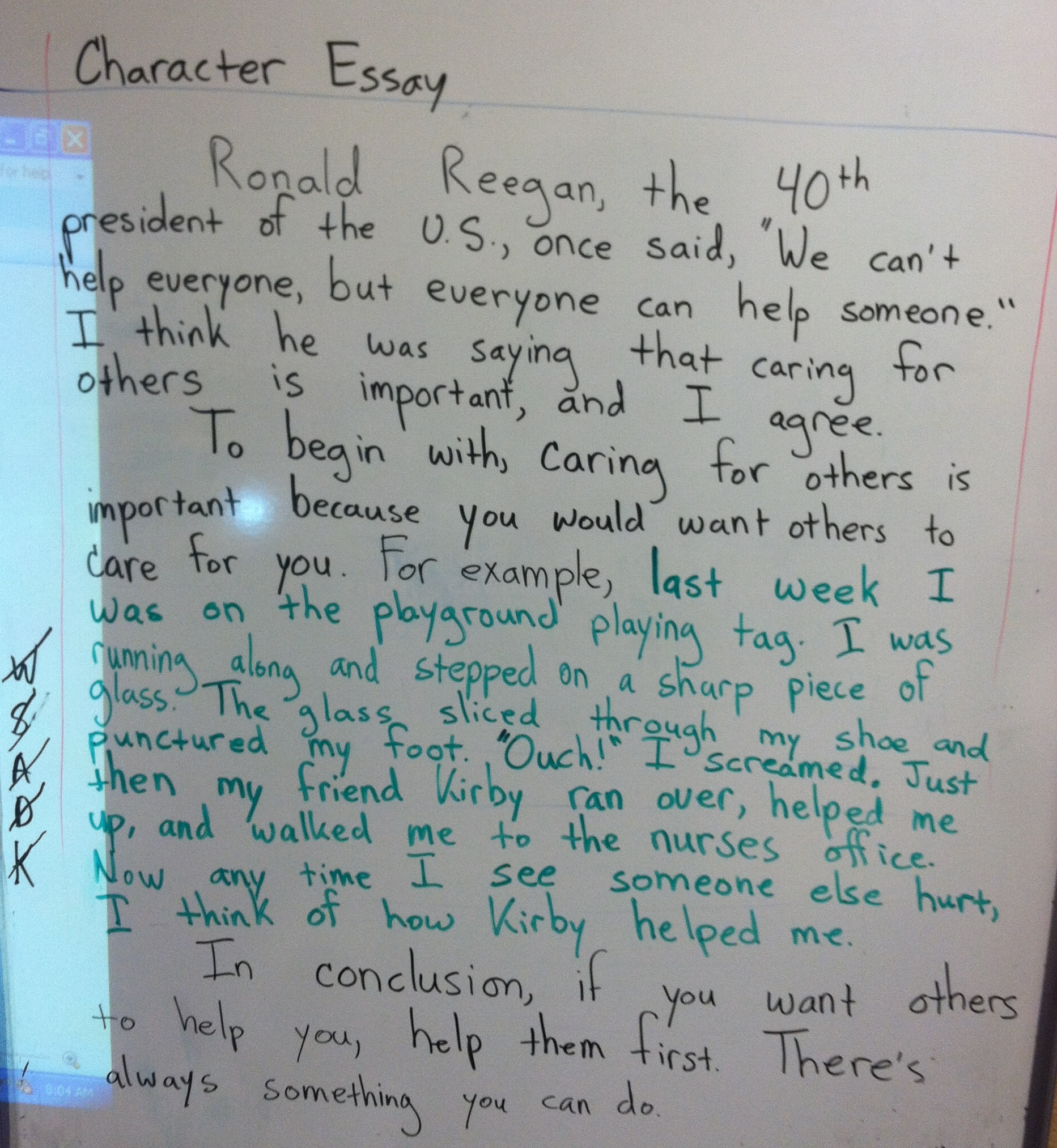 Persuasive Writing Examples For Third Graders