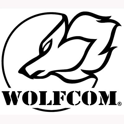 WOLFCOM Logo with white background.
