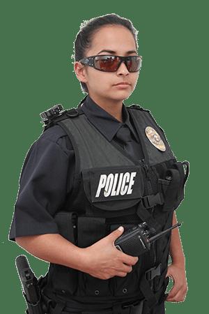 Police body camera female cops