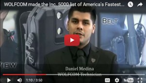 Police body camera manufacturer makes the INC. 5000