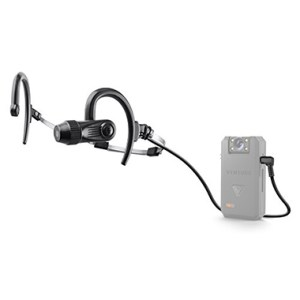 POV headset camera for Vision police body camera