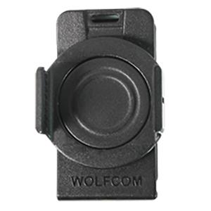 wolfcom vision police body camera 360-degree rotatable clip