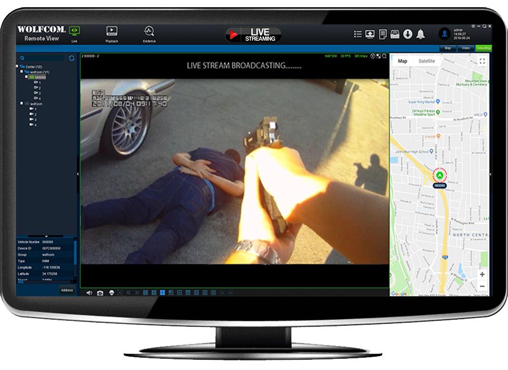 wolfcom live stream software
