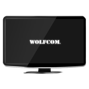 22-inch monitor for wolfcom storage solutions