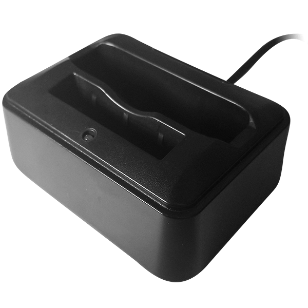 single dock commander body camera square