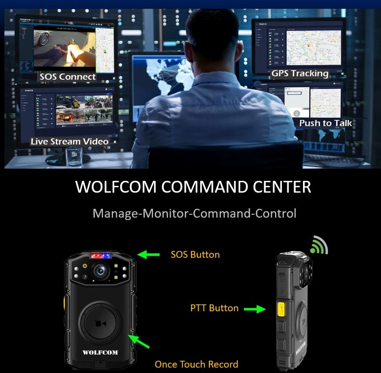 COPS WOLFCOM Command Center System.