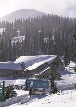 Wolf Creek skiers entrance