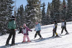 Wolf Creek Wolf Pups Kids Ski School