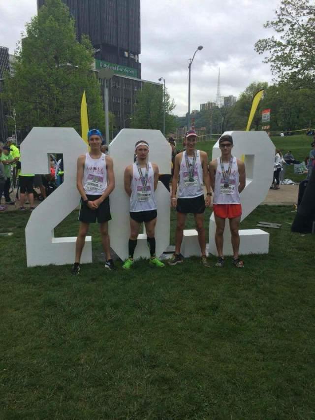 Wolf Creek Track Club Wins the 2016 Pittsburgh Marathon Relay