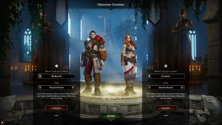Character creation: leather