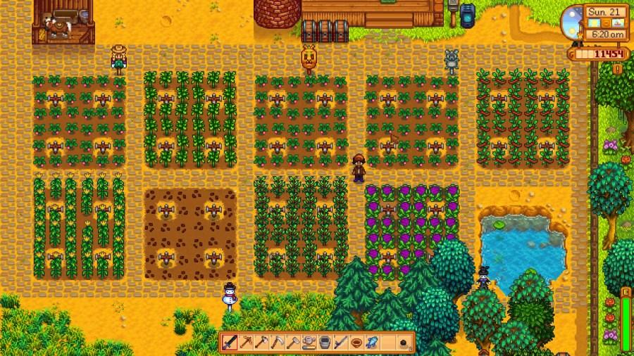 Pretty fields