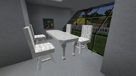 PO2 Village Angled house dining room