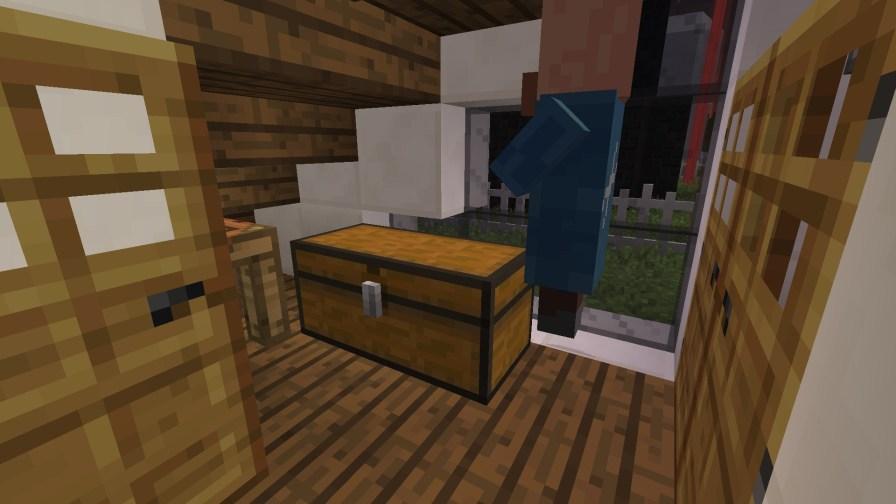 PO2 Village Modern house with farm closet