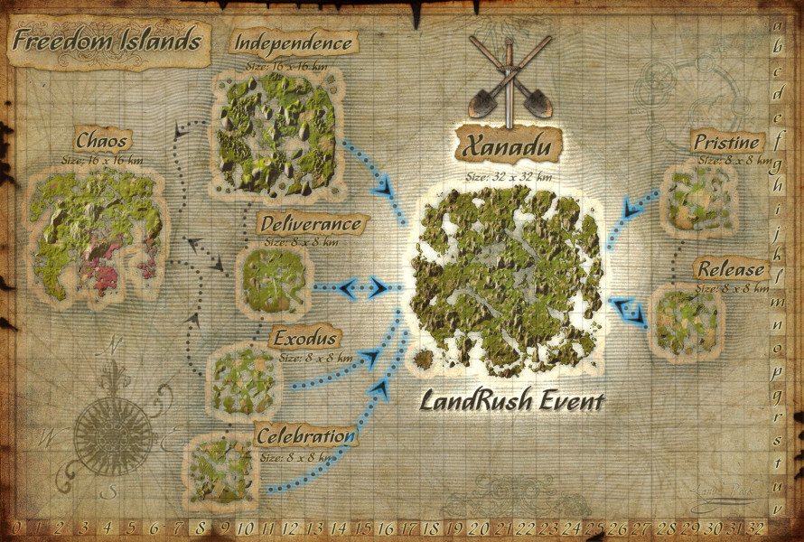 Xanadu travel paths