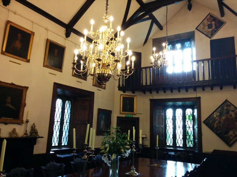 Great Hall in Malahide Castle