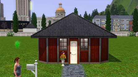 Terra's house from the outside