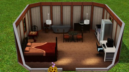 One room home