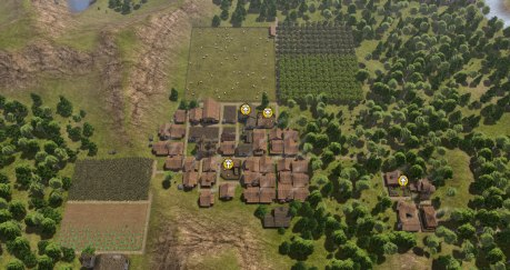 Going for the Uneducated and Isolationist achieves in Banished
