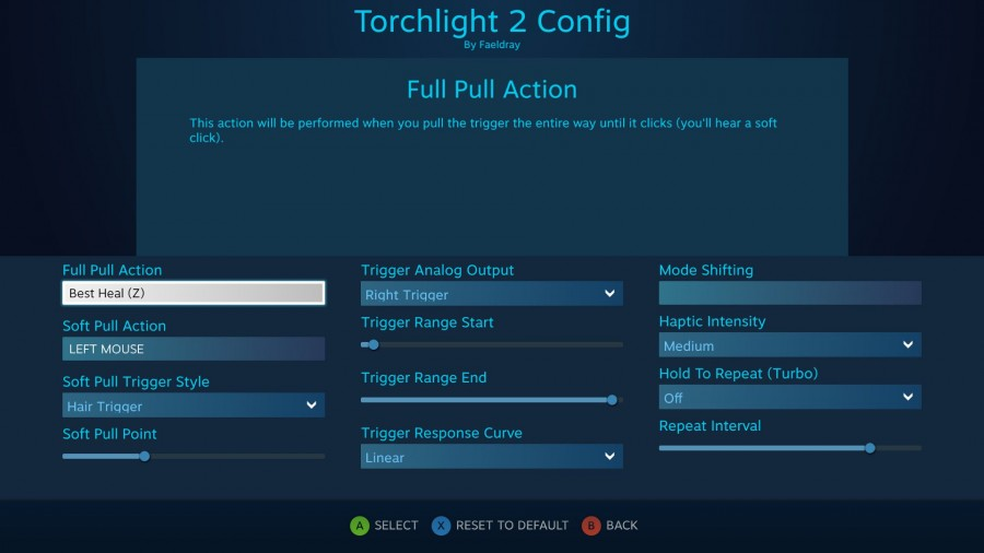 Torchlight 2 Config