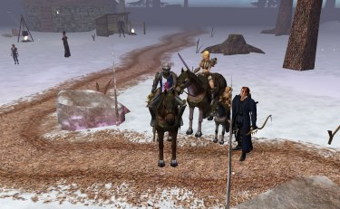 Horses! And mounted combat if you want