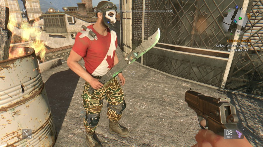 Green machete