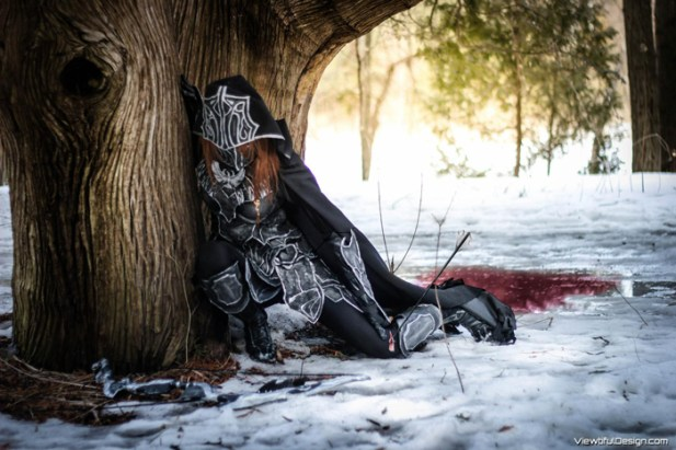 Ebony armor cosplay