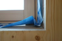 """The windows have a gap of up to 1/2"""" (1.25cm), which will be filled with a special expanding foam"""