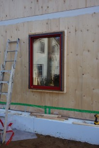 The installed window