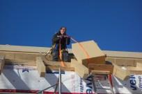 Anne hauling insulation