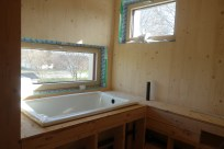 Bath roughed in