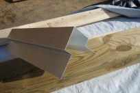 The aluminium corner trim