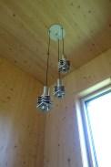 Hoogervorst 'Star' trio pendant in the stairwell