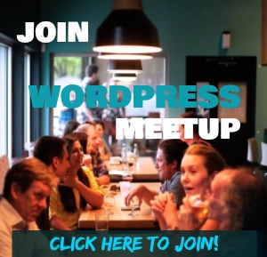 Connect with Like-Minded Writers or Bloggers. Join WordPress Meetup.