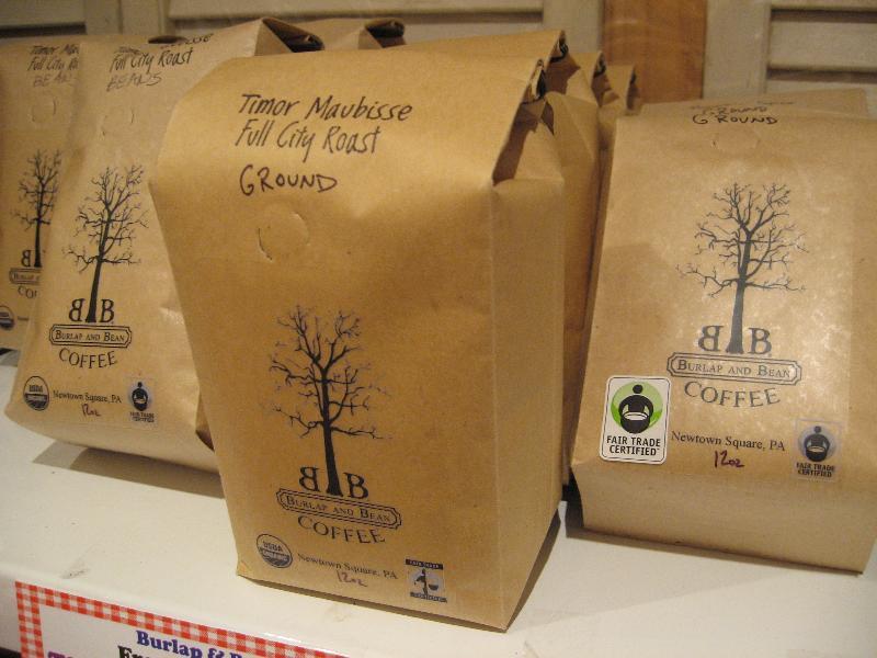 Burlap and Bean Coffee Bags