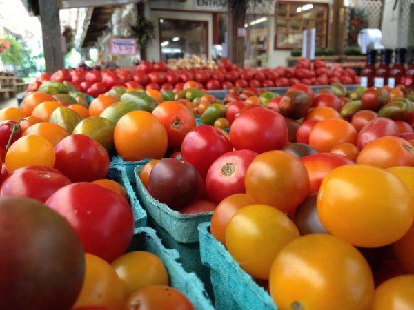 tomatoes cherry heirloom