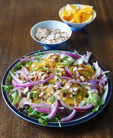 Orange Red Onion Salad