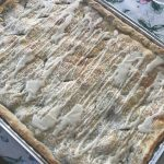 apple slab pie to feed a crowd