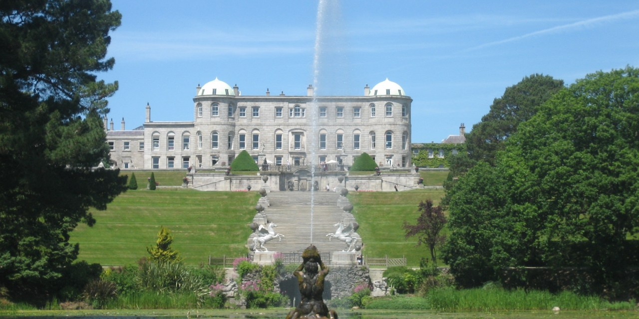 Powerscourt House & Garten