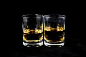 Glas irischer Whiskey