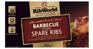 Packaging of Ribworld Spare Ribs